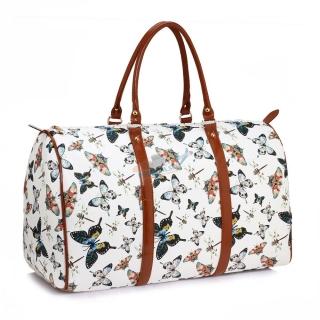 66c7754f783ab Biela cestovná taška do ruky